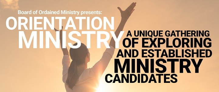 Orientation to Minister 2020 banner