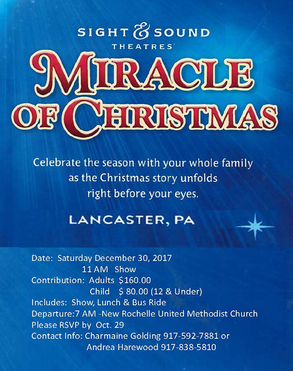 The Miracle Of Christmas.Miracle Of Christmas Show Lancaster Pa Leaving From New