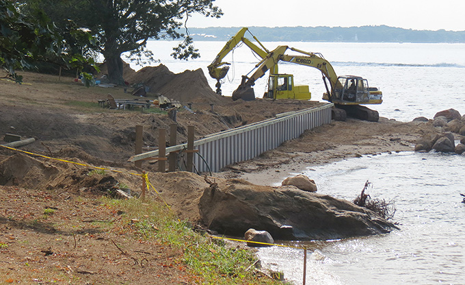 Quinipet Seawall Repairs