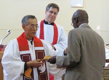 Rev. Kim Installation