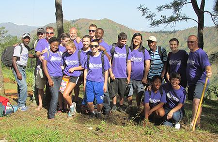NYAC Haiti Youth VIM Team